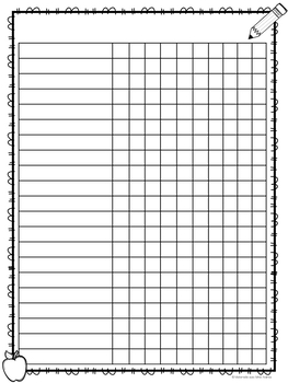 Free Editable Student Checklist Template By Maternelle Avec Mme Andrea