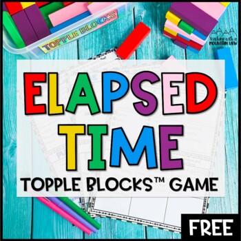 FREE Elapsed Time Topple Blocks™