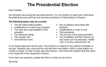 FREE! President Election Day Resources