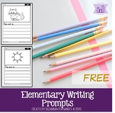 FREE Elementary Writing Prompts
