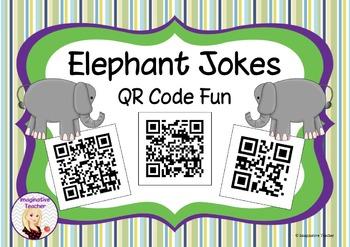 FREE Elephant Jokes QR Code Fun