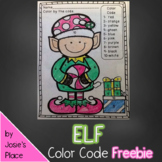 FREE Elf Color by number