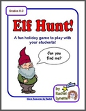 FREE Elf Hunt Game for Christmas