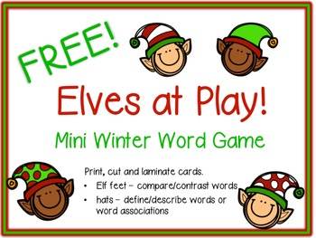 FREE!  Elves at Play