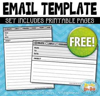 FREE Email Template Bundle {Zip-A-Dee-Doo-Dah Designs}