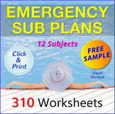 FREE - Emergency Sub Plans Excerpt