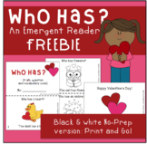 FREE Emergent Reader - Valentine's Day themed - For Speech