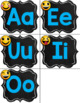 FREE Emoji Chalkboard Decor Word Wall Headers