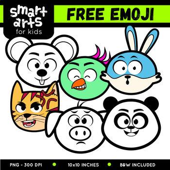 FREE Emoji Clip Arts