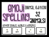 Emoji Spelling- Animal Edition!