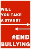 FREE End Bullying Poster - #EndBullying Campaign