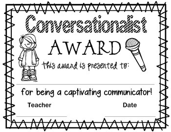 FREE End of Year Award Certificates
