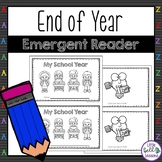 FREE End of Year Emergent Reader Activity