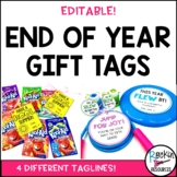 FREE End of Year Gift Tags!