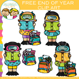 Free End of the School Year Clip Art