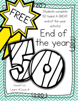 FREE End of the Year 50