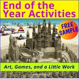 FREE - End of the Year Activities
