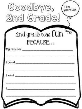 End of the Year Activities for Second Grade