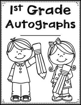 FREE End of the Year Autograph Book Preschool-3rd Grade)