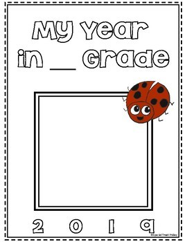 FREE End of the Year Memory Book Non Grade Specific