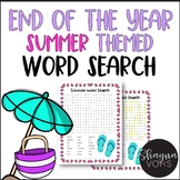 FREE End of the Year  Word Search