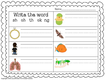 Ending Blends Worksheets and Activities | Worksheets, Finals and ...