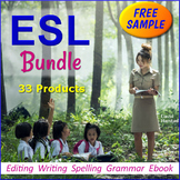 FREE - English Language Learners Worksheet