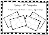 FREE Equal Groups Templates