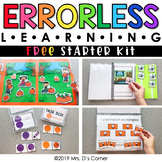 FREE Errorless Learning Starter Pack | File Folder, Task Box, Adapted Book