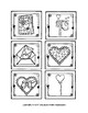 FREE Everything Valentine File Folder Match and Color Page