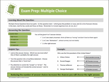 FREE!!  Exam Prep: Multiple Choice Questions