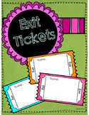 FREE Exit Tickets