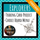 FREE Explorers Trading Card Project