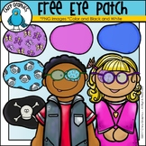 FREE Eye Patch Clip Art Set - Chirp Graphics
