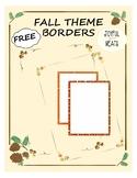 FREE FALL BORDERS!