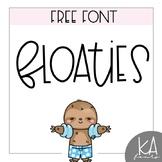 FREE FONT - Floaties [KA FONTS]