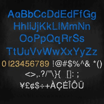 FREE FONT - Lulu's Sister - personal classroom use