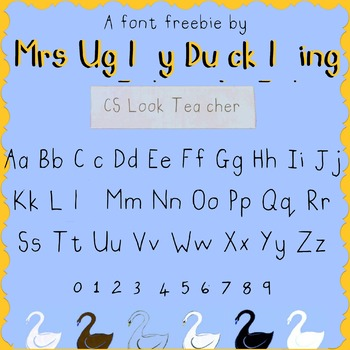 FREE FONT PERSONAL AND COMMERCIAL USE CS LOOK TEACHER