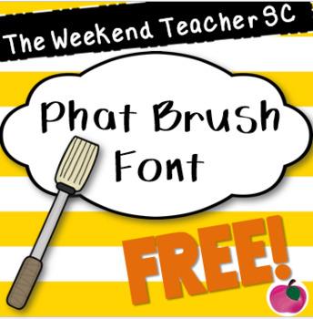 TWTSC Phat Brush Font
