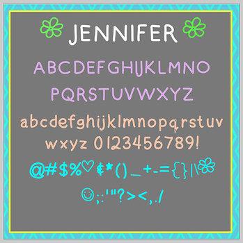 FREE FONT Three Pack - Chalkboard, Handwritten - personal, classroom use