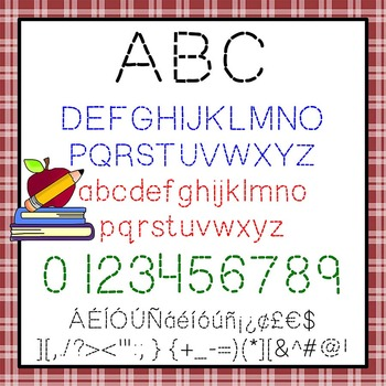 Free Fonts Trace Me Handwriting 2 Pk Personal Classroom Use