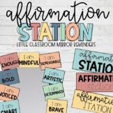 Affirmation Station- Neutral Colors (BONUS: Neon & B&W colors)