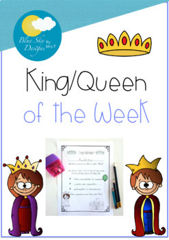FREE FOR A LIMITED TIME - King/Queen of the Week