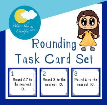 Rounding Task Card Set
