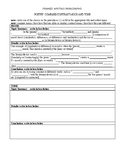 FREE FRAMED WRITING PARAGRAPHS: POETRY: COMPARE/CONTRAST MOOD AND TONE