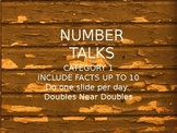 FREE FREE Number Talks 2nd grade Addition Doubles Near Doubles
