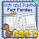 Fact Families - Cut and Paste - FREE