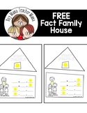 FREE Fact Family House Math Activity