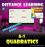 FREE - Factoring Quadratics ax^2+bx+c - Distance Learning