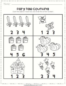 free fairy tale worksheet pack prek kindergarten 7 pages. Black Bedroom Furniture Sets. Home Design Ideas